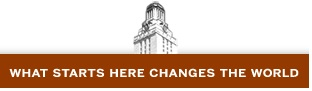UT Tower with tagline